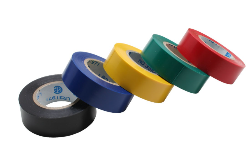 Isolierband, 5er Pack, div. Farben, 18mm, 9m InLine